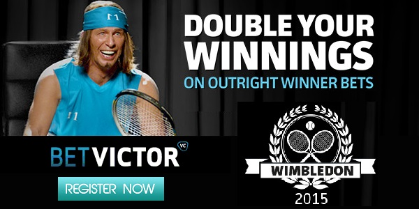 Join BetVictor, Wager on Wimbledon and Double Your Winnings Now!