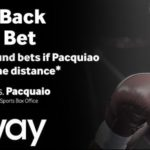 Win GBP100 with K.O. in Fight of the Century at Betway sportsbook!