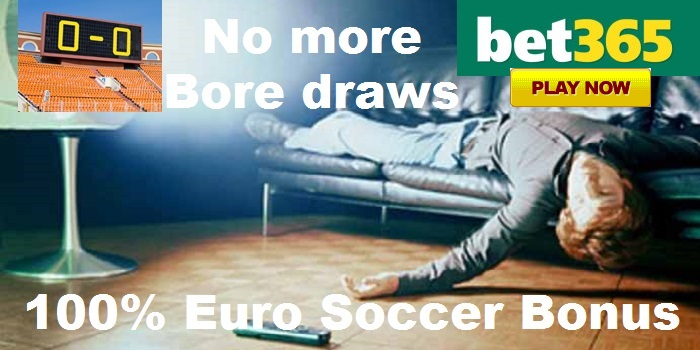 Bet365 Sportsbook Offers 100% Euro Bonus for the Champions League Games