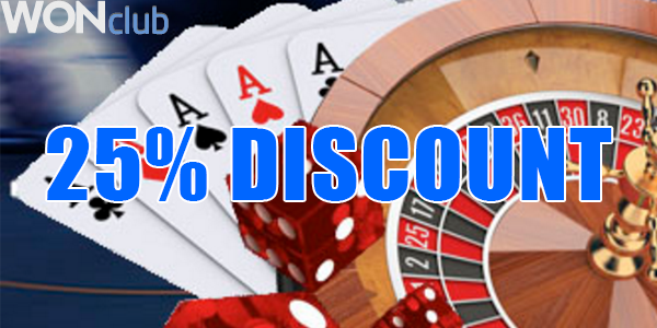 WonClub Casino Discount Deal