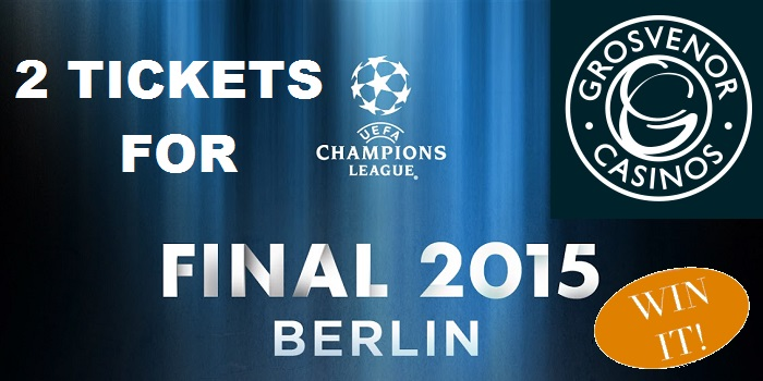 Win 2 Tickets to the Champions League Final with Grosvenor Casino