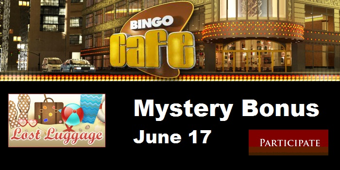 Bingo Cafe Lost Luggage Bonus