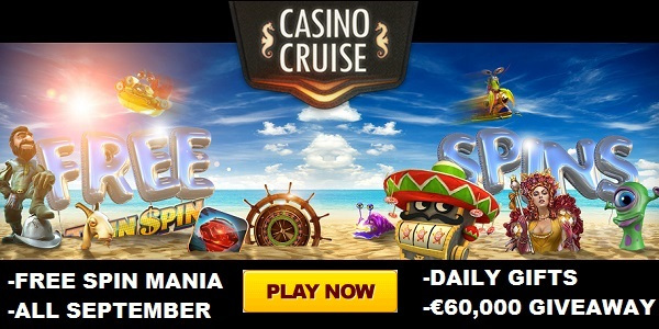 Casino Cruise Free Spins Mania