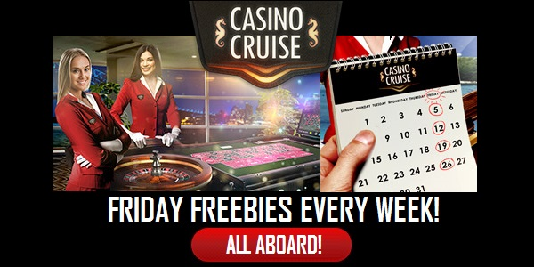 Casino Cruise Friday Freebie Promo