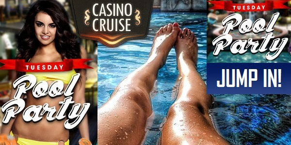 Casino Cruise Tuesday Pool Party