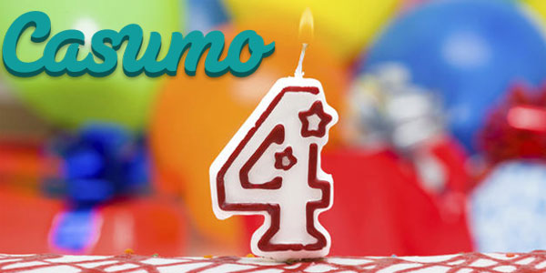 Casumo Casino birthday 2016