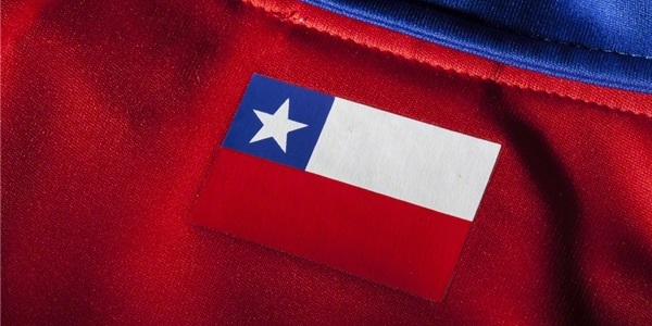 Chile national team jersey collar
