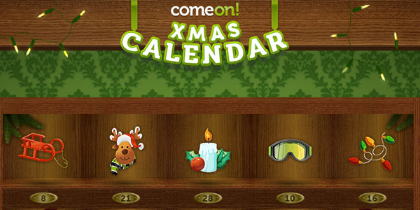 ComeOn! Casino's Christmas Calendar Giveaway is Just Kicking Off!