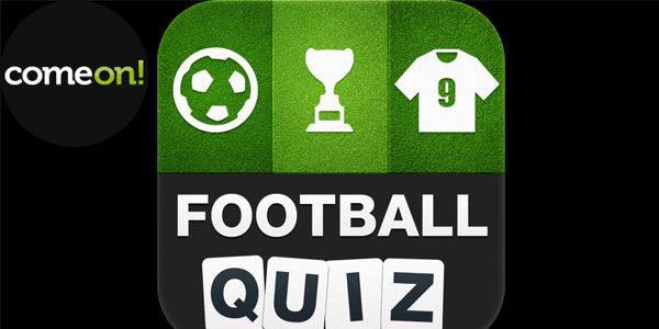 ComeOn! Sports weekly football quiz