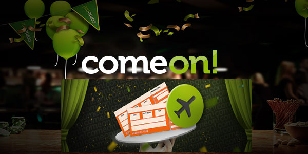 ComeOn! Casino + GBP 2,000 holiday Voucher