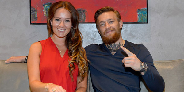 Conor McGregor and girlfriend