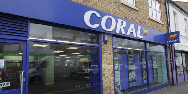 Coral bookmakers UK