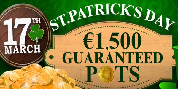 Guaranteed Cash Prizes This St. Patrick's Day at CyberBingo!