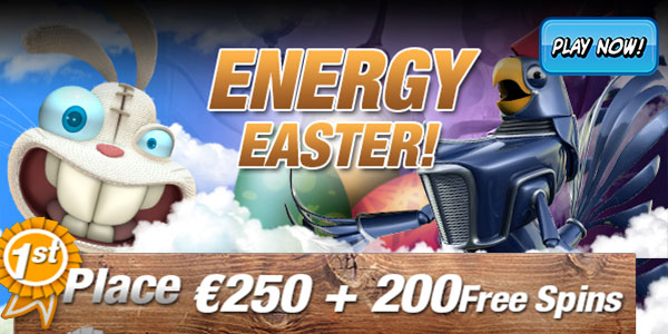 Claim Great Rewards at Energy Casino's Easter Tournament