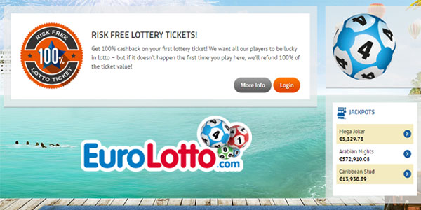 New Euro Lotto Players Can Play Their Favorite Lottery Risk-Free!