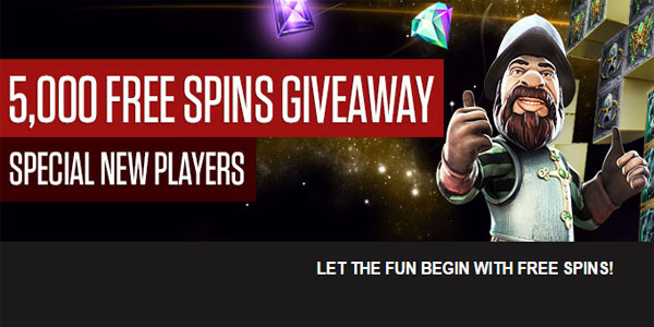 New Players to NetBet Casino can Instantly Win hundreds of Free Spins