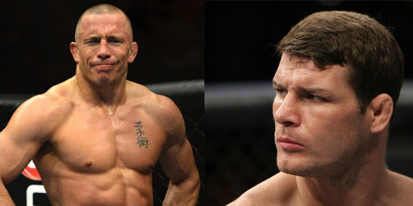 GSP vs. Bisping betting odds