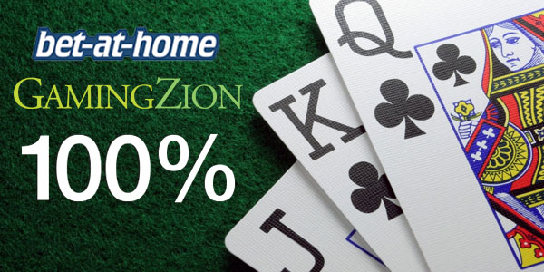 Exclusive online deposit bonus of 100% Max €400 for GamingZion Players!