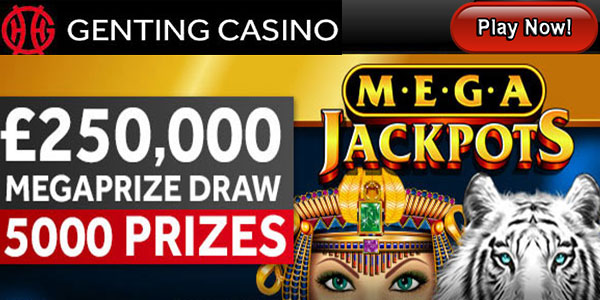 Genting Casino + Genting Points + GBP/EUR 100 wager