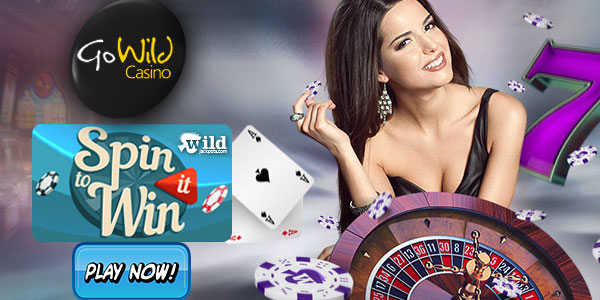Go Wild Casino + Spin it To Win It + 50 free spins