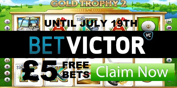 BetVictor Sportsbook Free Bet Prize