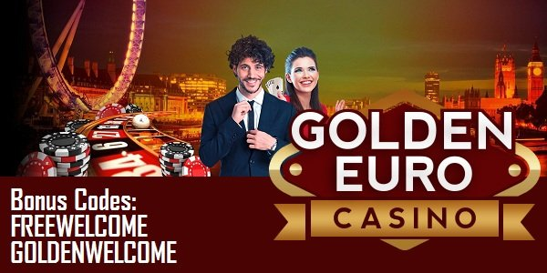 Golden Euro Casino Welcome Package promo