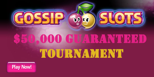 Gossip Slots Casino Tournament Promo