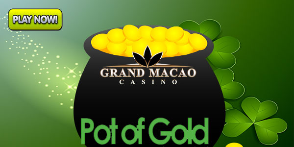 Play slots at Grand Macao Casino during the month of St. Patrick's Day
