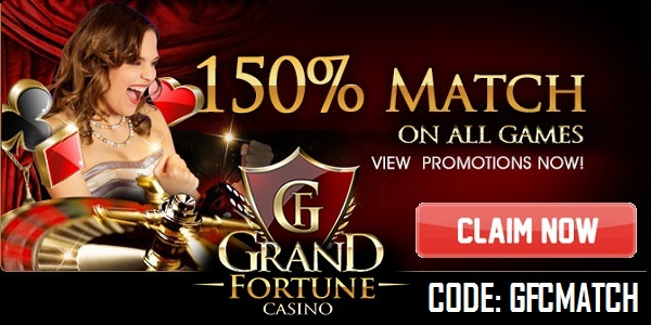 Grand Fortune Casino Month-End Moolah promo