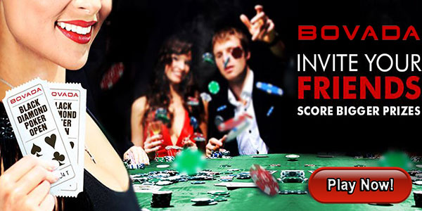 Win Great Bonus at Bovada for Each Friend You Refer