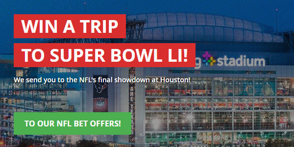 Free trip to the Super Bowl