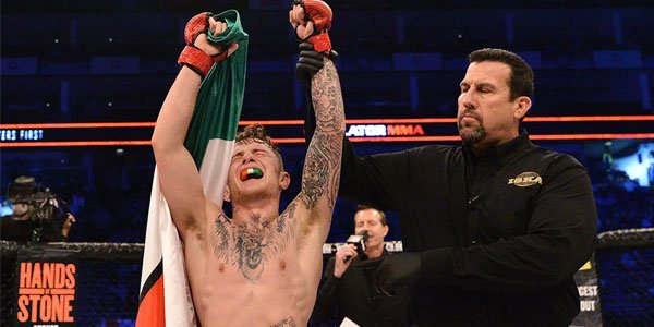 James Gallagher MMA fighter