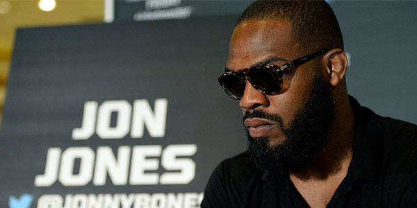 Jon Jones in 2016