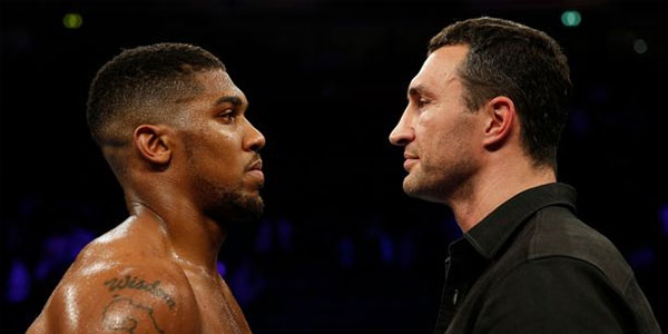 Klitschko vs Joshua boxing match