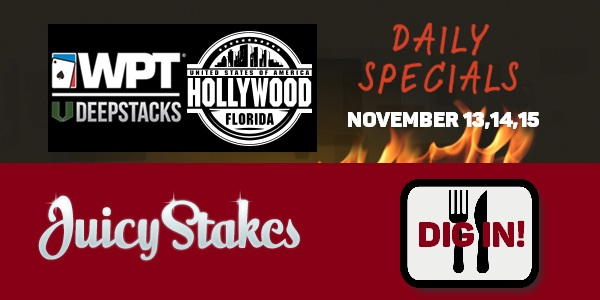 Juicy Stakes WPT Hollywood poker tournament