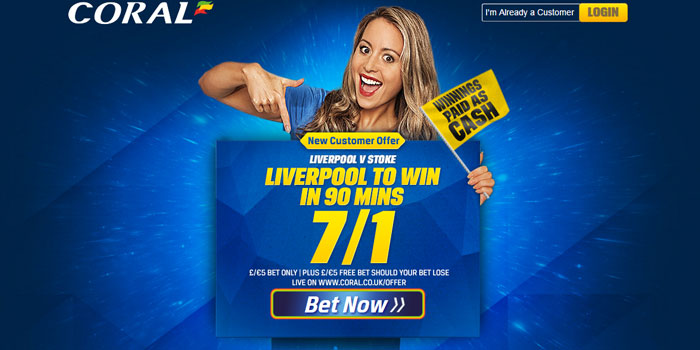 Coral Sportsbook promo