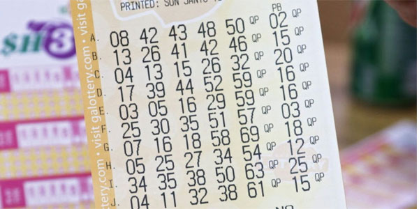 Old Powerball ticket