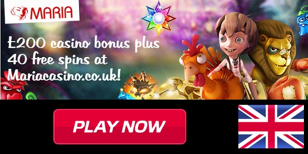 Claim GBP 200 with the Welcome Bonus at Maria Casino