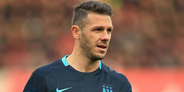 Martin Demichelis bet on football, maybe bet on international football, he didn't bet on football in the UK