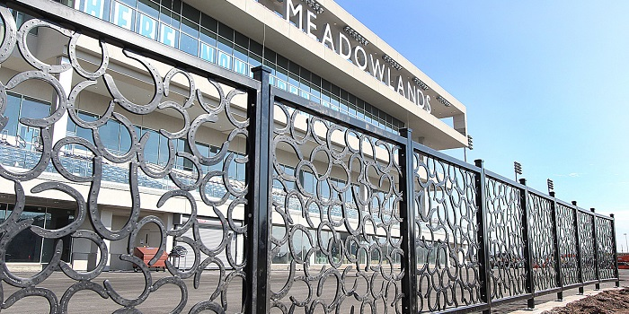 Meadowlands Racetrack lower front view
