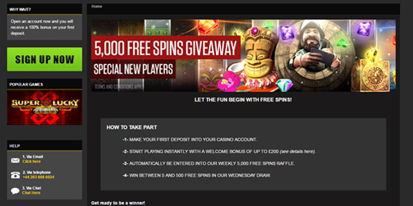 Join NetBet for Chance to Win 500 Free Spins!