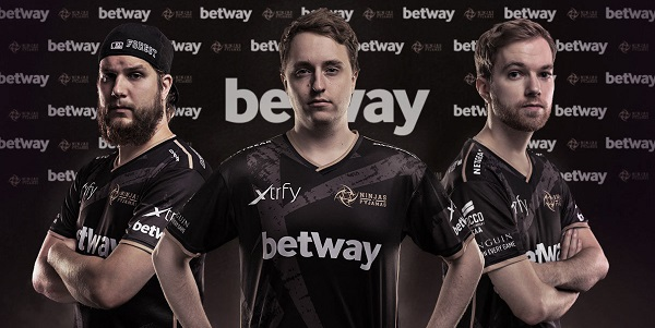 eSports Sponsorship Deal Announced: Betway Partners up with Ninjas in Pyjamas