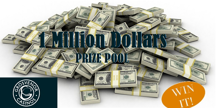 Win Your Share of Grosvenor Casino's Incredible Prize Pool of $1,000,000