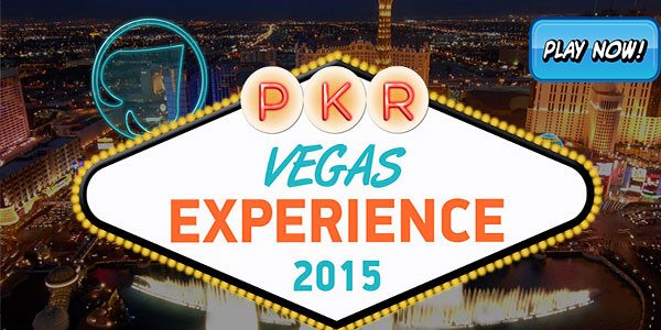 Win $40,000 in Prizes at the PKR Vegas Experience