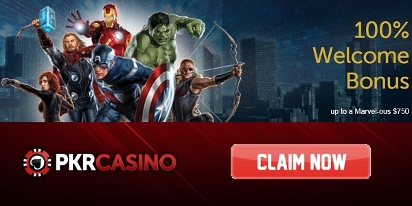 PKR Casino Gaming Experience welcome bonus