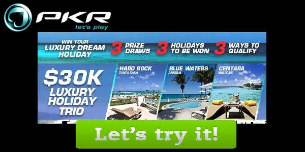 Win the 30,000 dollar PKR Poker Holiday Giveaway!