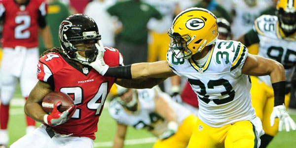 Falcons vs Packers NFL