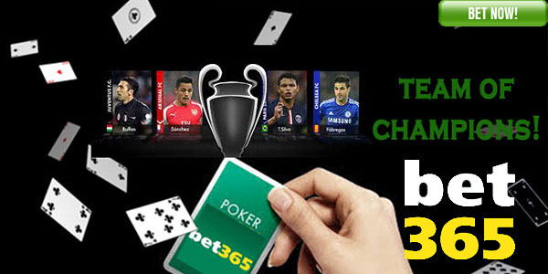 No Need To Keep a Poker Face With Bet365 Poker Team Of Champions Promo