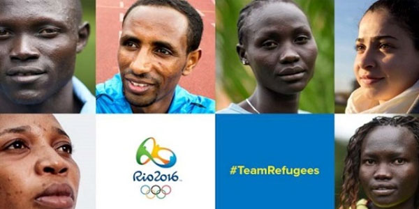 Olympic refugee team