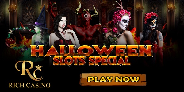 Rich Casino Halloween slots tournament promotion